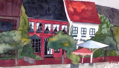 Aquarell von Jutta Kulcke 1998